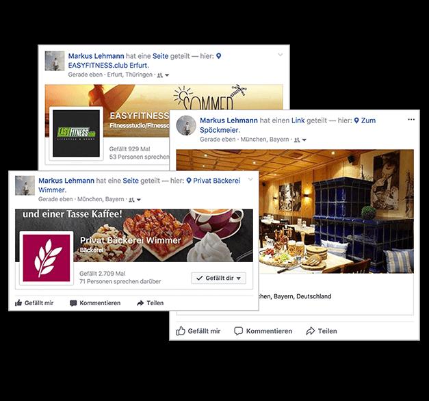 Mit dem Gäste WLAN von Socialwave können Ihre Gäste per Location CheckIn posten.