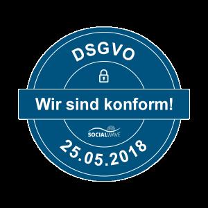 DSGVO konform Siegel
