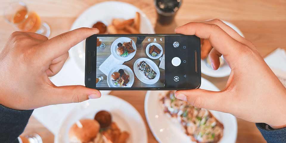 Social Media Seiten Gastronomien