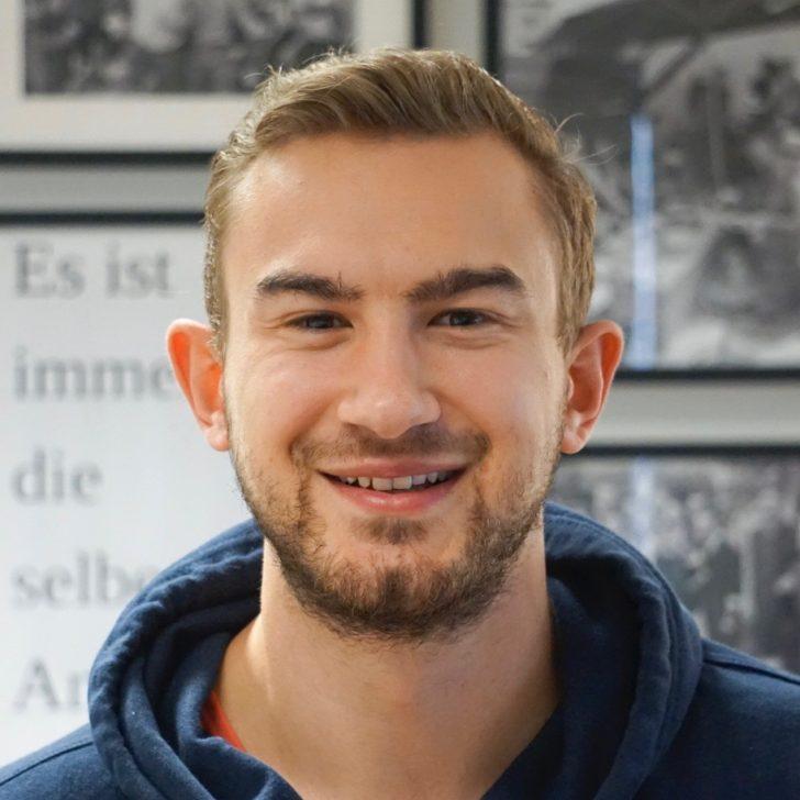Mitarbeiter Moritz