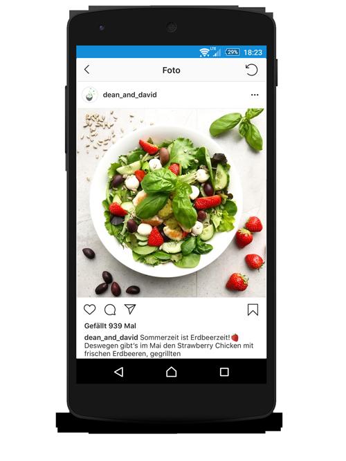 Foodblogging Instagram
