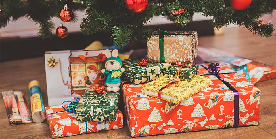 Geschenke in der Weihnachtszeit