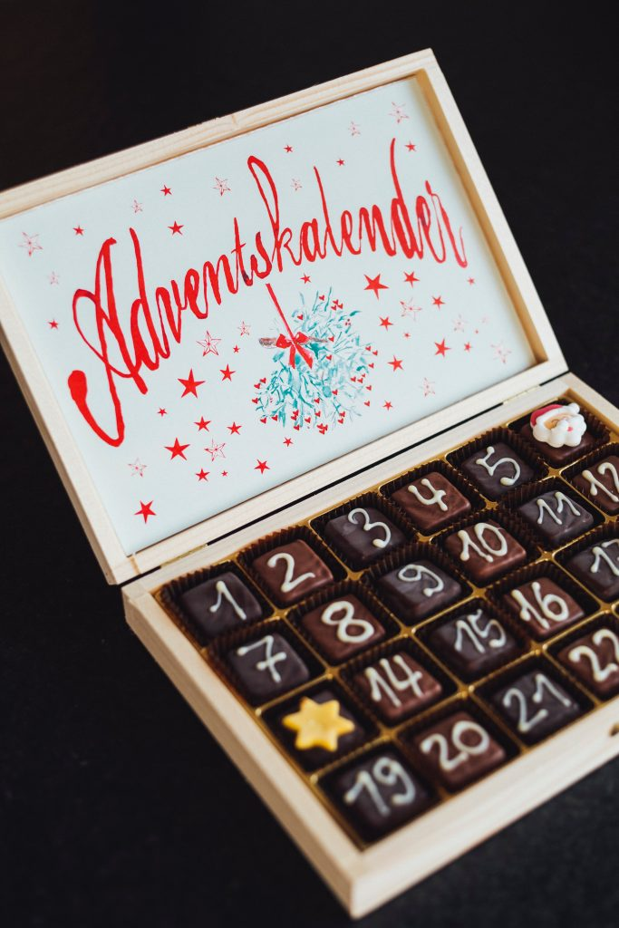 Schokoladen-Adventskalender
