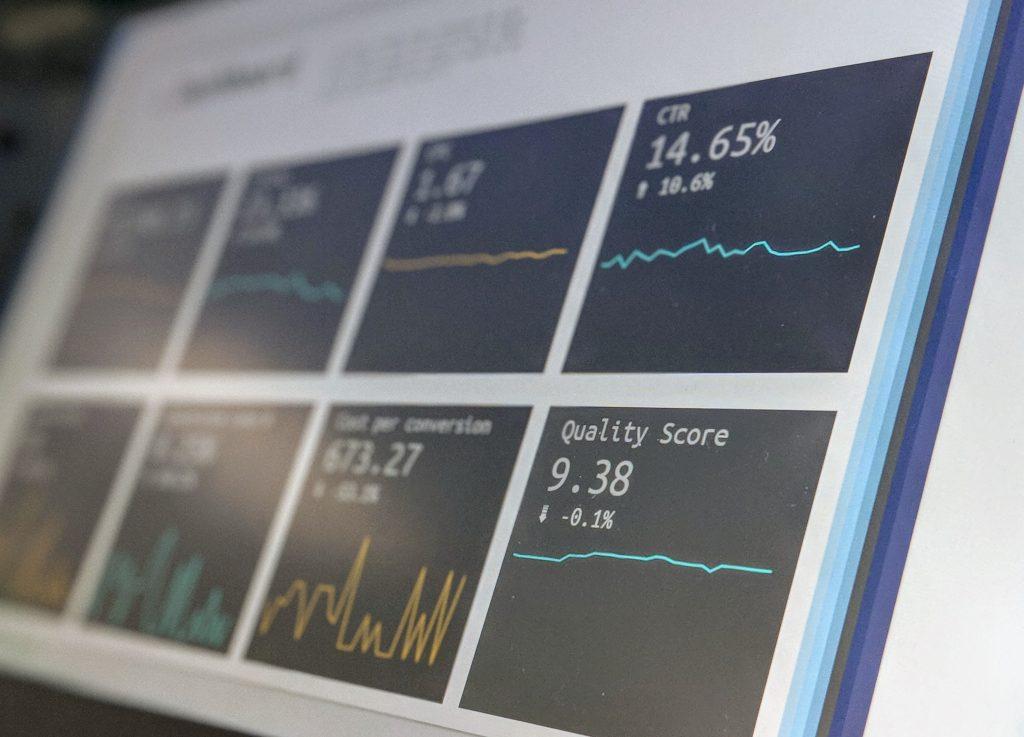 Datenauswertung einer Website