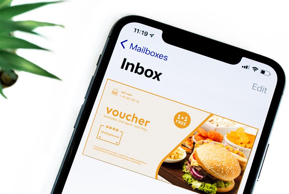 Email Rabatt Kontaktdaten