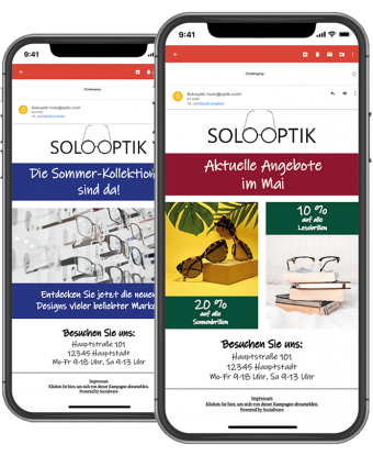 Newsletter-Marketing Optiker