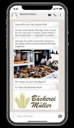 Socialwave_Messenger_Bäckerei