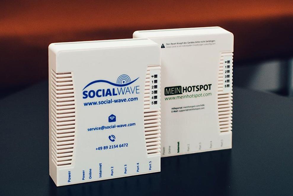 WLAN Router von Socialwave